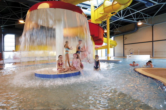 Indoor Pool at Hoburne Torbay - Hoburne Torbay Holiday Park