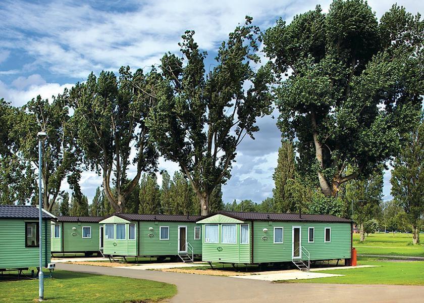 Billing Aquadrome Caravans