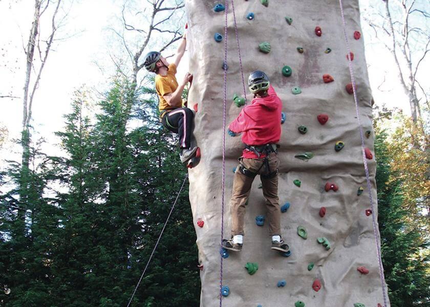 Finlake Wall Climbing