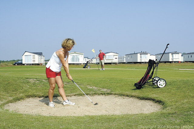 9 Hole Golf Course at Hopton - Hopton Holiday Village