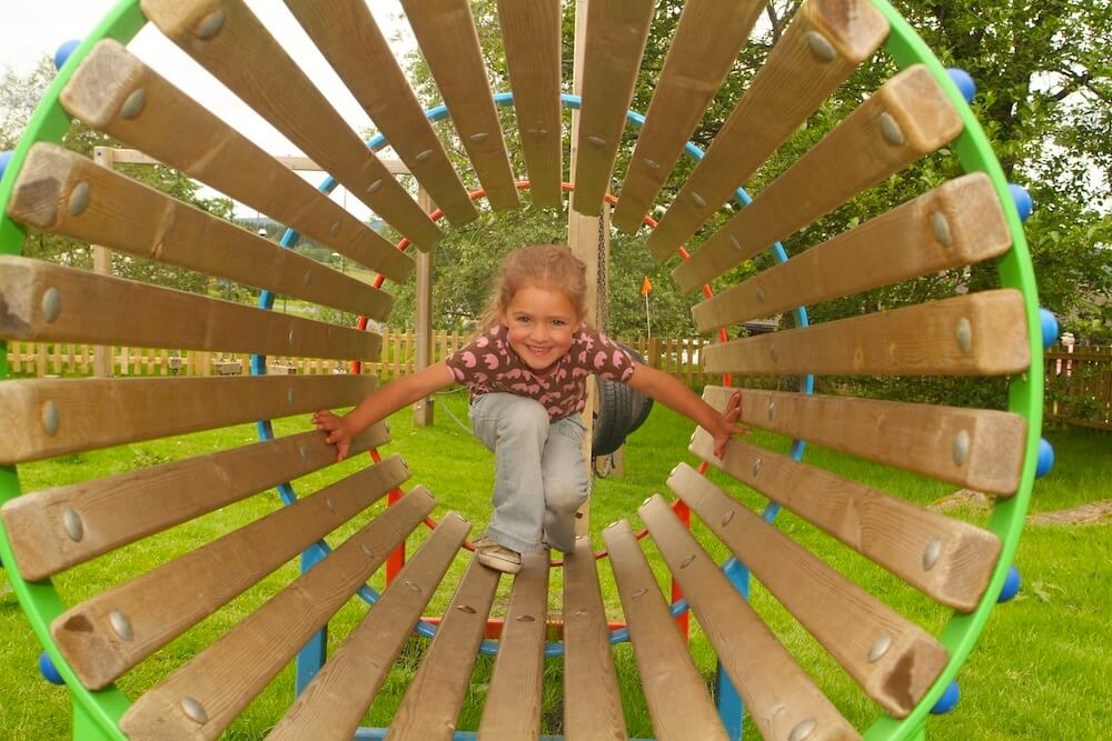 Play Area - Kielder Lodges Holiday Park