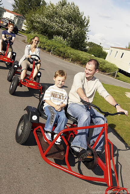 Dynobikes at Presthaven Sands - Prestatyn Sands Holiday Park