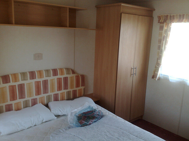 Caravan Bedroom at Primrose Valley - Primrose Valley Holiday Park