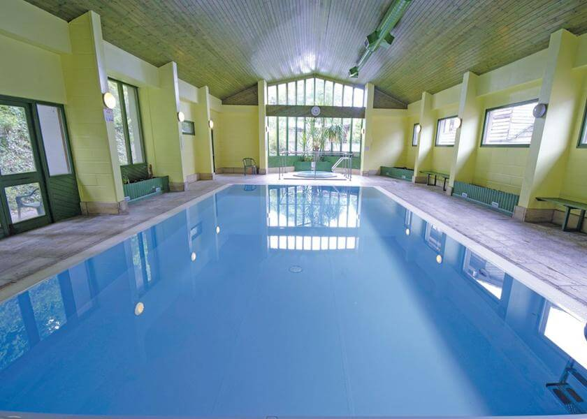 Watermouth Lodges Indoor Pool