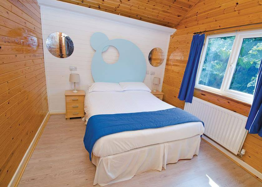 Watermouth Lodges Maples Bedroom
