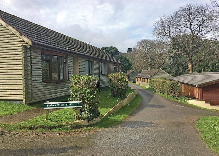 Watermouth Lodges Park Setting